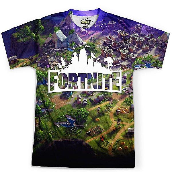 Camiseta Masculina Jogo Fortnite Md02 - OUTLET