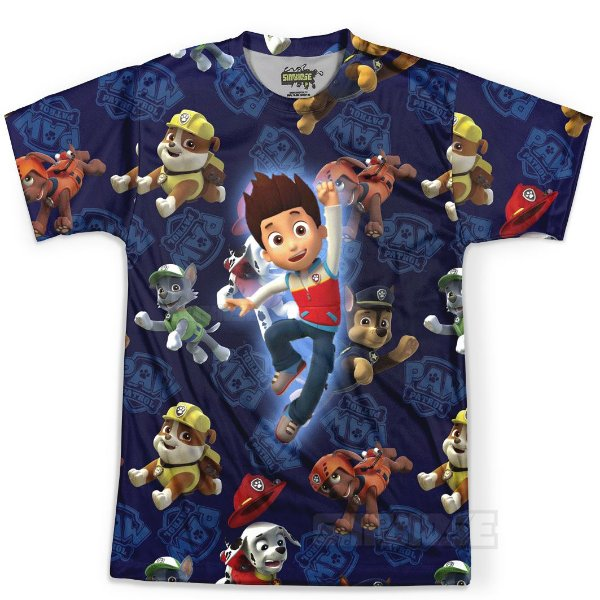 Camiseta Masculina Patrulha Canina Md02 - OUTLET