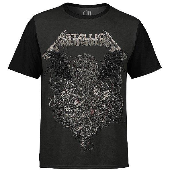 Camiseta masculina Metallica Estampa digital md02 - OUTLET