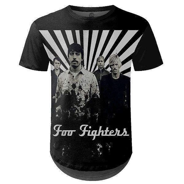 Camiseta Masculina Longline Foo Fighters md02
