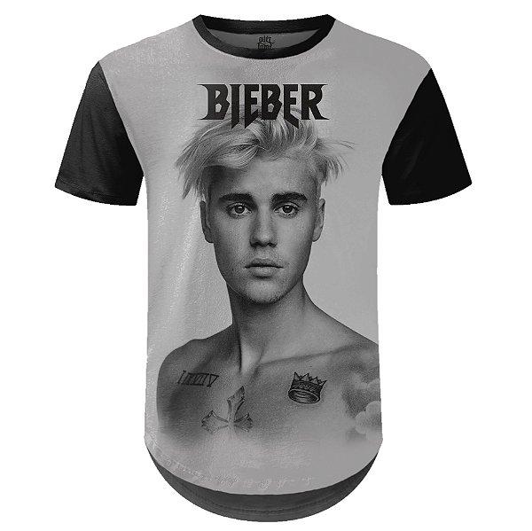 Camiseta Masculina Longline Justin Bieber md02