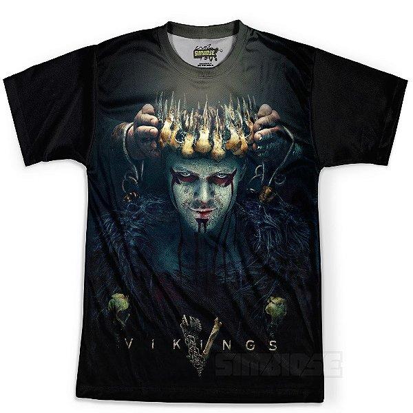 Camiseta Masculina Série Vikings