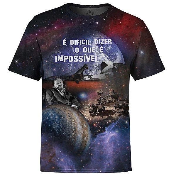 Camiseta Masculina Conquistas Espaciais