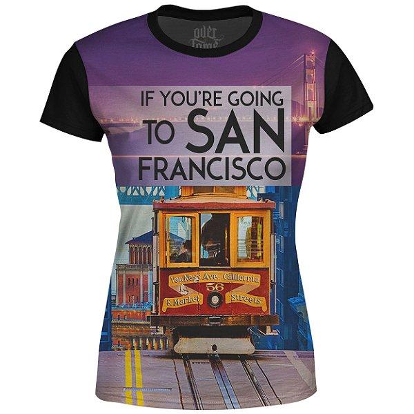 Camiseta Baby Look Feminina San Francisco Md01