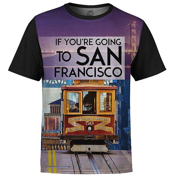 Camiseta Masculina San Francisco Md01