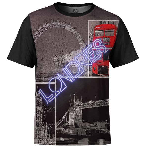 Camiseta Masculina Londres Md02