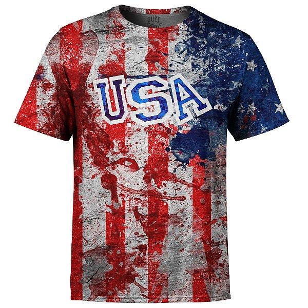 Camiseta Masculina Estados Unidos EUA Md02