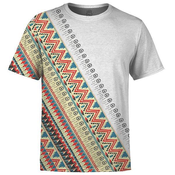 Camiseta Masculina Étnica Tribal Africana Md06
