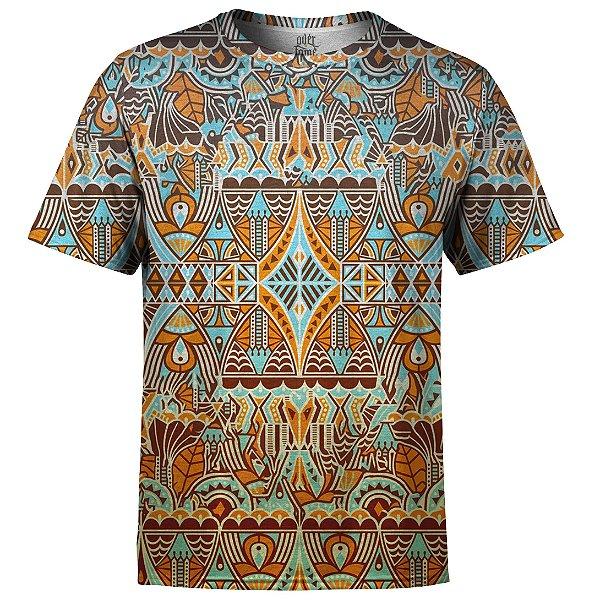 Camiseta Masculina Étnica Tribal Md04