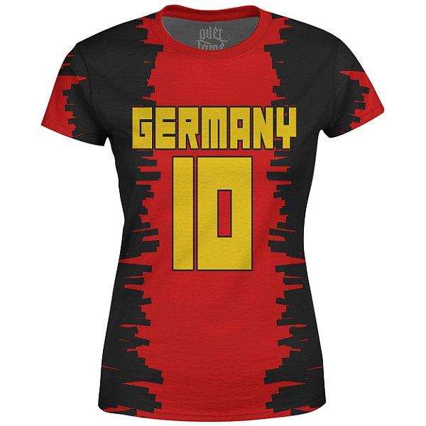 Camiseta Baby Look Feminina Alemanha Germany md01