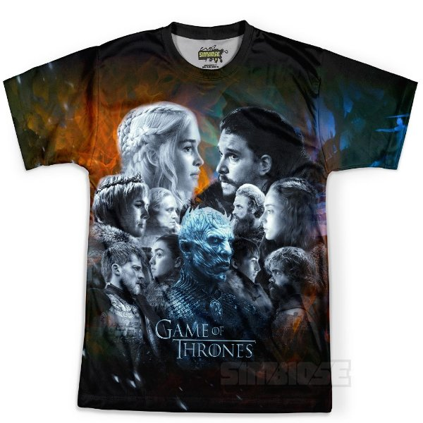 Camiseta Masculina Game of Thrones GOT Md14