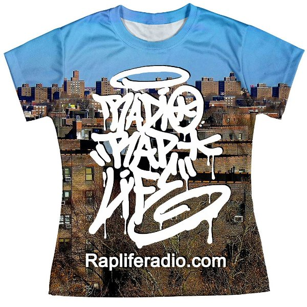 Camiseta Baby Look Feminina Rap Life md05