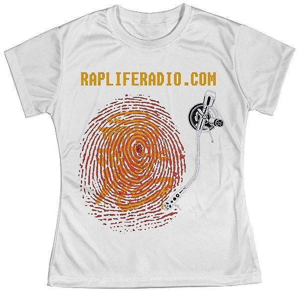 Camiseta Baby Look Feminina Rap Life md06