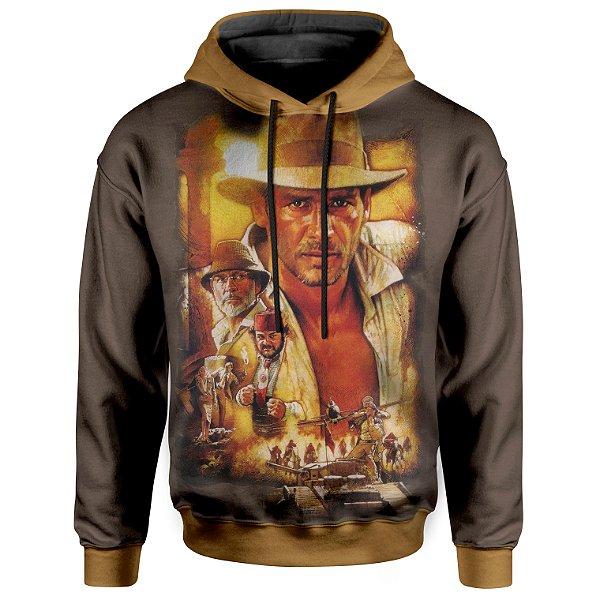 Moletom Unissex Com Capuz Indiana Jones MD01