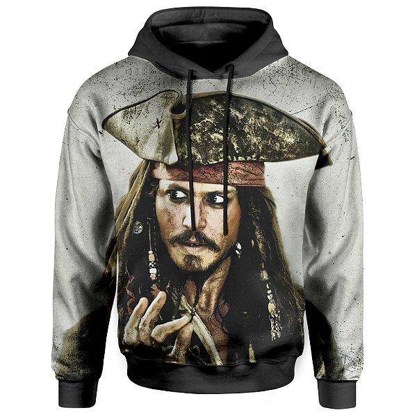 Moletom Unissex Com Capuz Jack Sparrow MD01