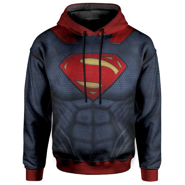 Moletom com Capuz Superman armadura MD02