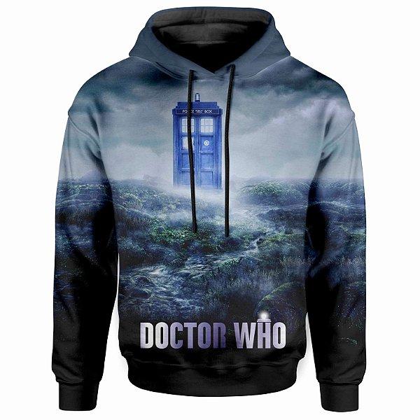 Moletom Com Capuz Unissex Dr Who MD06