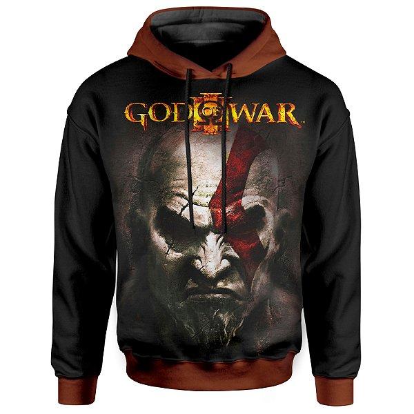 Moletom Com Capuz Unissex God of War Md3