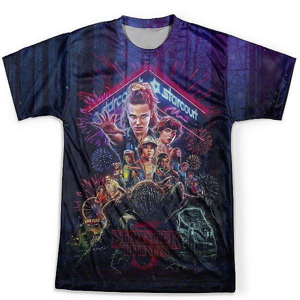 Camiseta Masculina Stranger Things MD04