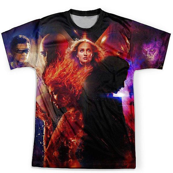 Camiseta Masculina Fenix Negra X-Men