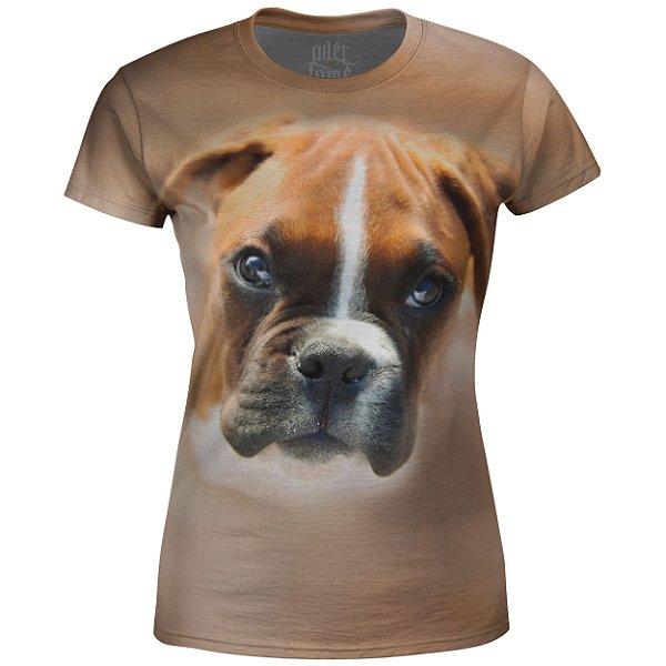 Camiseta Baby Look Feminina Boxer md01