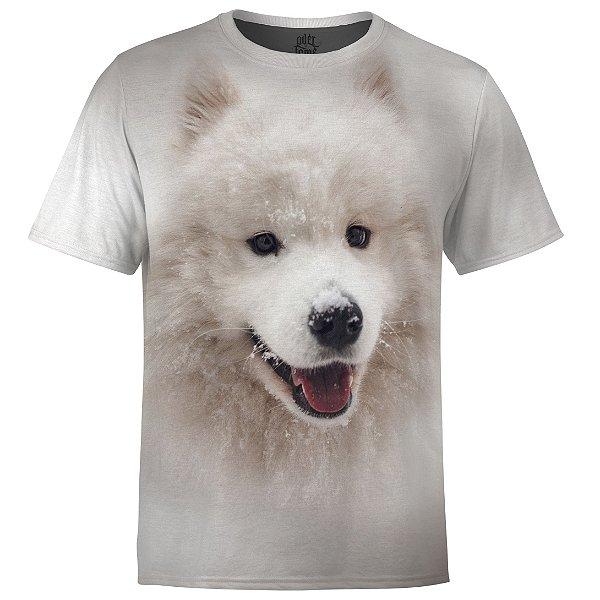 Camiseta Masculina Husky Siberiano md01