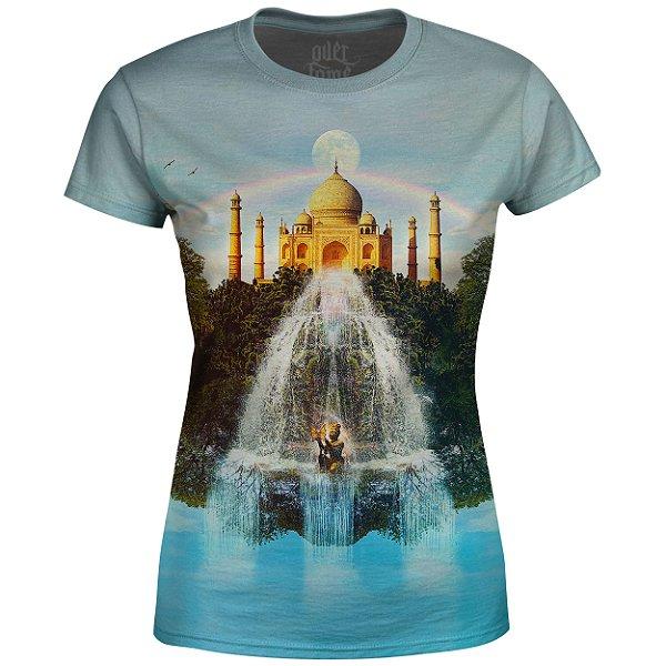 Camiseta Baby Look Feminina Taj Mahal md01