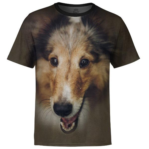 Camiseta Masculina Collie md01