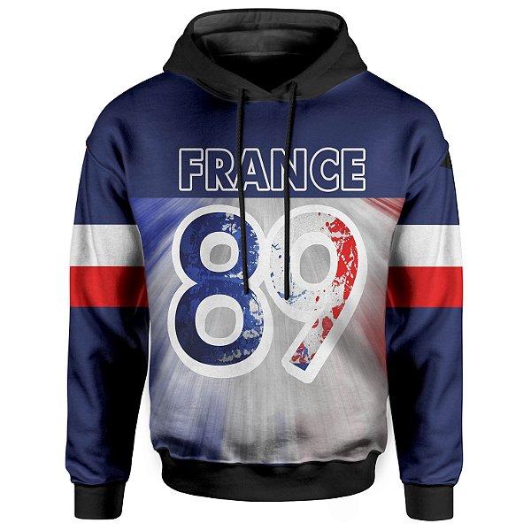 Moletom Com Capuz Unissex França 89