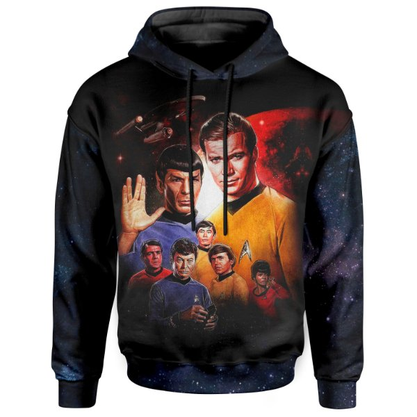 Moletom Com Capuz Unissex Star Trek Md6a