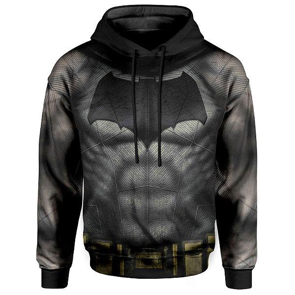Moletom Unissex Com Capuz Batman Armadura MD02