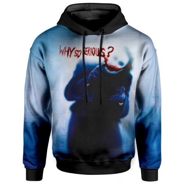 Moletom Unissex Com Capuz Coringa Joker MD02