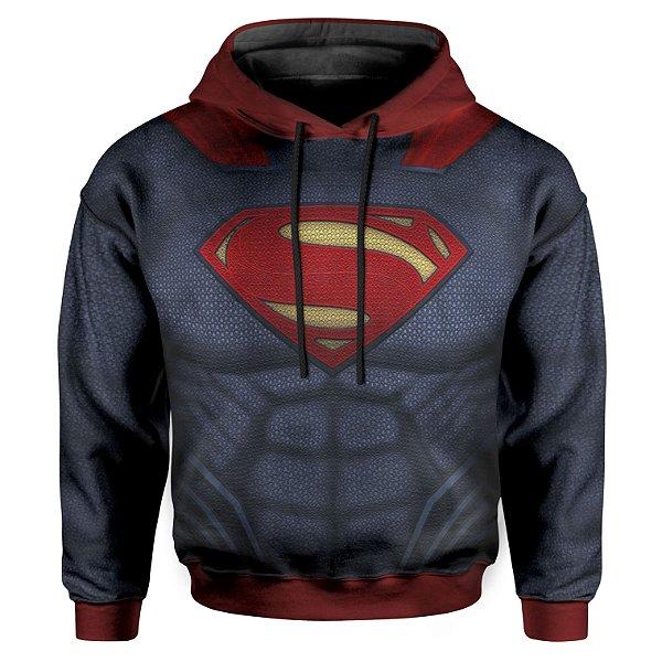 Moletom Infantil Com Capuz Superman armadura MD02