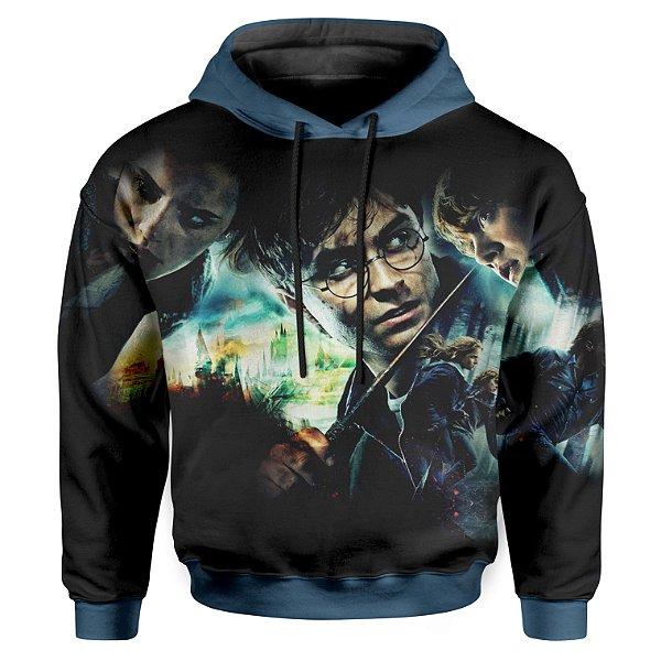 Moletom Infantil Com Capuz  Harry Potter MD01