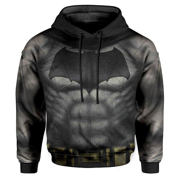 Moletom Infantil Com Capuz Batman Armadura Md02