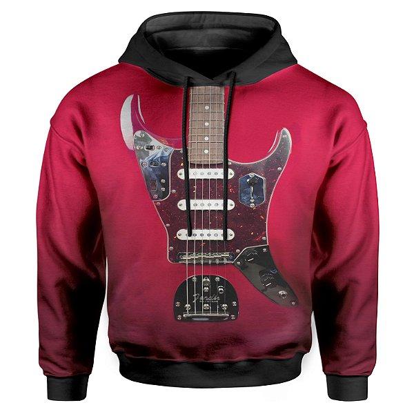Moletom Infantil Com Capuz Unissex Guitarra Fender