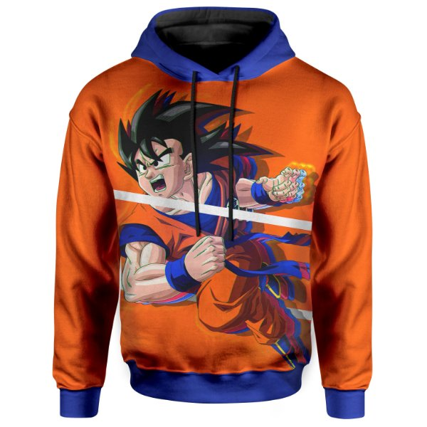 Moletom Unissex Com Capuz Dragon Ball Goku Md06
