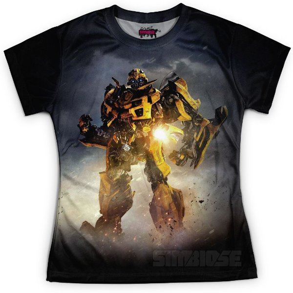 Baby look Feminina Bumblebee Transformers MD04 - OUTLET