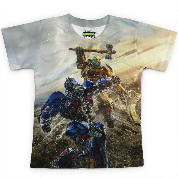 Camiseta Infantil Transformers MD02 - OUTLET
