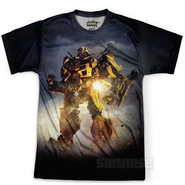 Camiseta Camisa Masculina Bumblebee Transformers Md04 - OUTLET