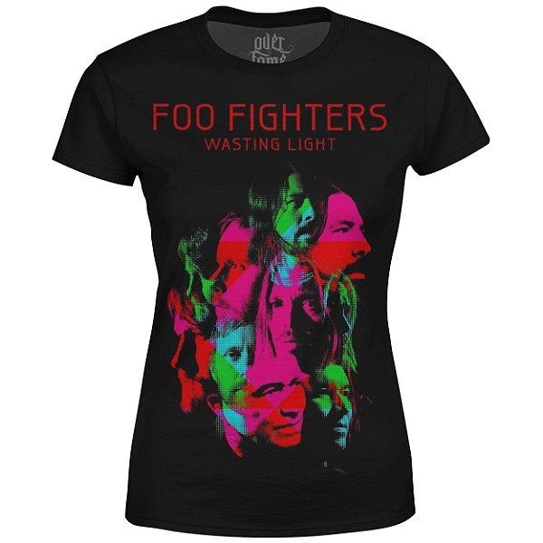 Camiseta Baby Look Feminina Foo Fighters md04 - OUTLET