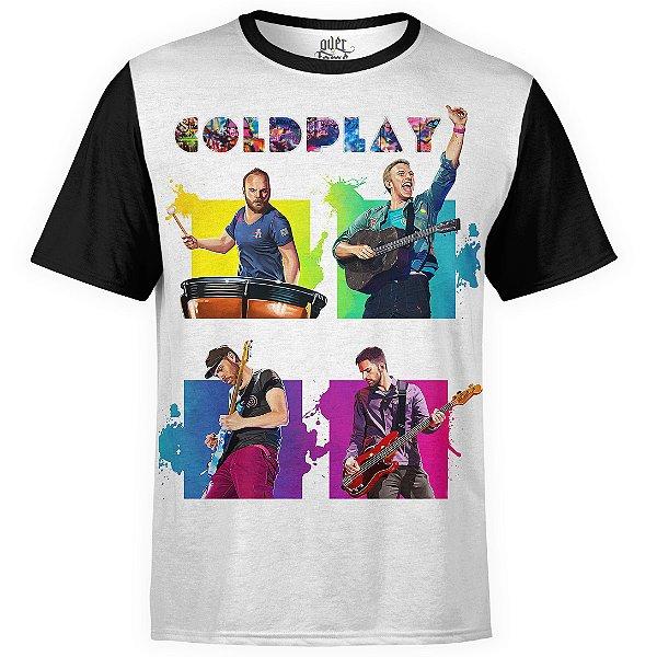 Camiseta masculina Coldplay Estampa digital md02 - OUTLET