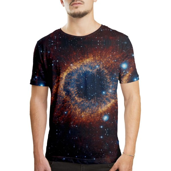 Camiseta Masculina Olho do Universo Estampa Digital - OUTLET