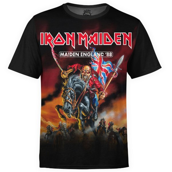 Camiseta masculina Iron Maiden Estampa digital md02 - OUTLET