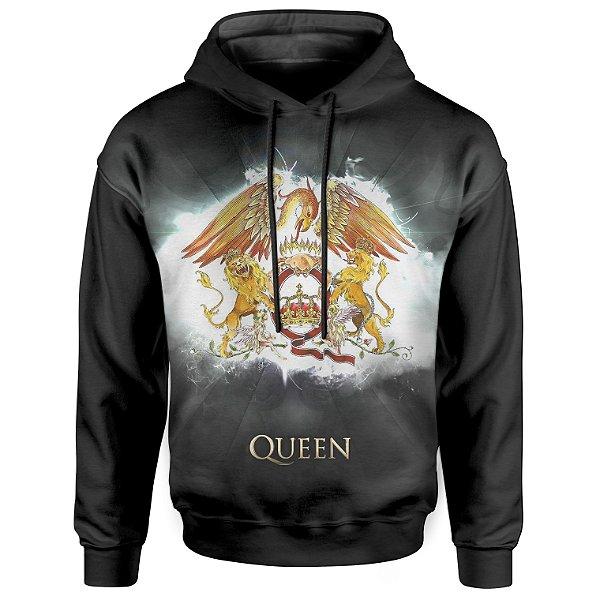Moletom Com Capuz Unissex Queen md02