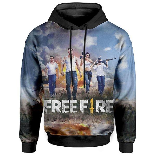 Moletom Com Capuz Unissex Free Fire md01