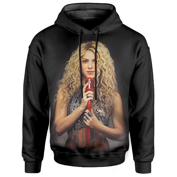 Moletom Com Capuz Unissex Shakira md01