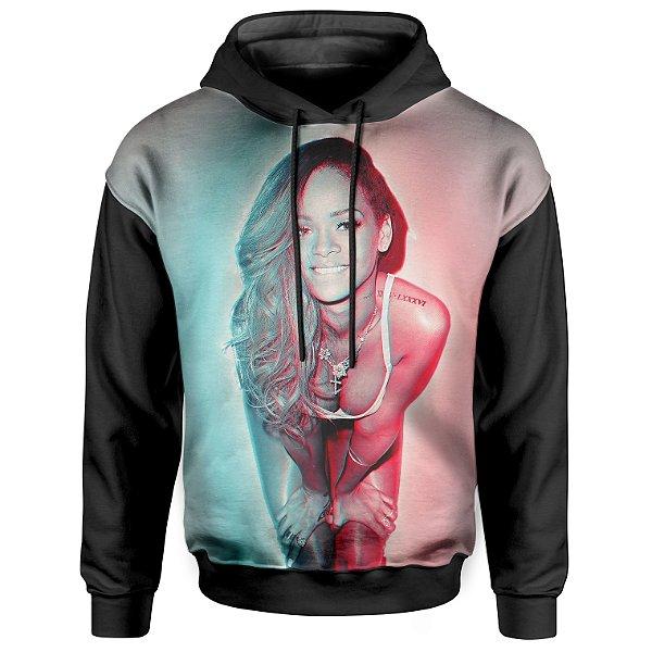 Moletom Com Capuz Unissex Rihanna md04