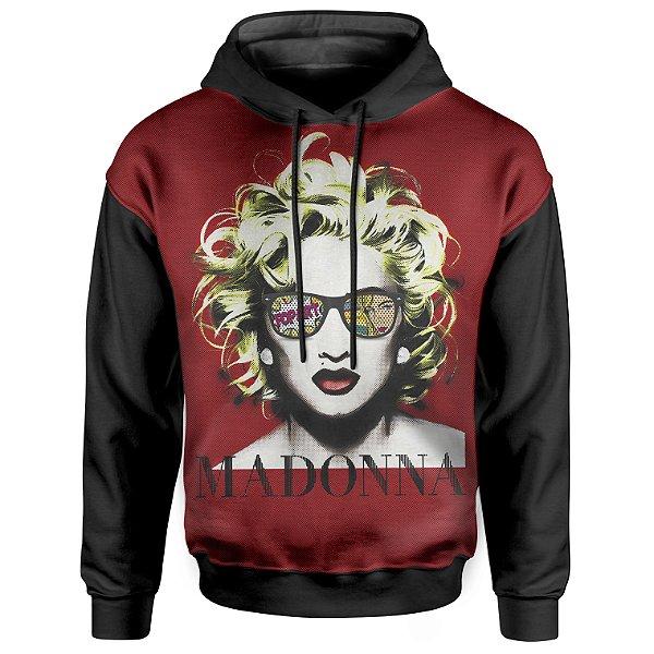 Moletom Com Capuz Unissex Madonna md02