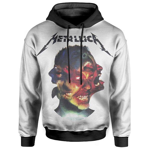 Moletom Com Capuz Unissex Metallica md03